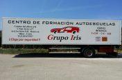 Rotulación Camión practicas Grupo Iris