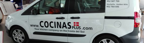 Rotulacion vehiculo Cocinas Plus