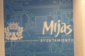 Mural decorativo Sala de Prensa Ayuntamiento de Mijas