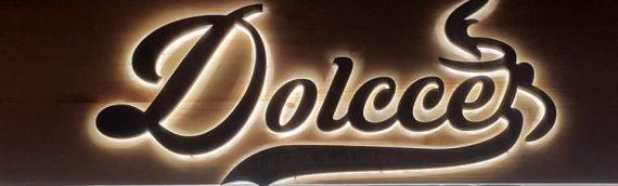 Letras Corpóreas Nueva apertura Heladería Dolcce en Fuengirola