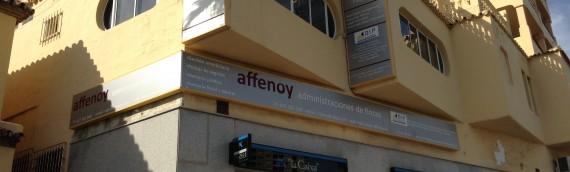 Carteles Exterior Oficina Affenoy Torrequebrada