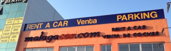 Valla Publicitaria MalagaCar Malaga