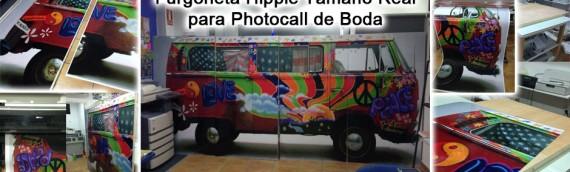 Photocall de Madera para Boda