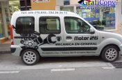 Rotulación Furgoneta Motor 26
