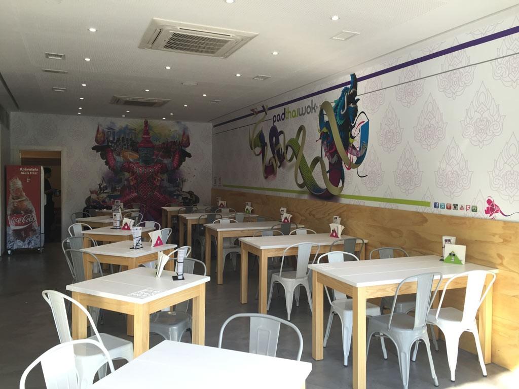 Mural decorativo vinilo polimerico laminado mate